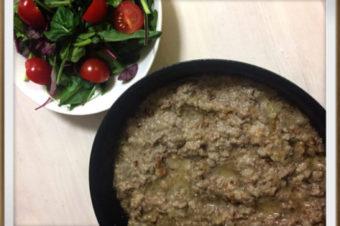 【漢方薬膳レシピ】はとむぎ粉入り優れもの山芋ハンバーグ