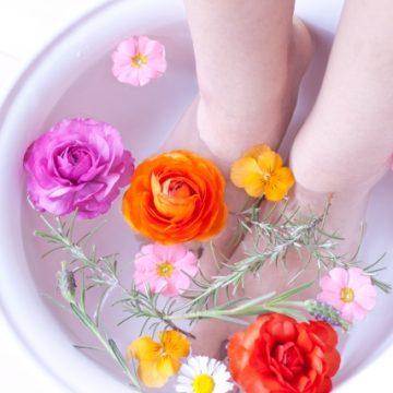 足湯の季節です~腎を労わり、温かくしてお過ごしください~